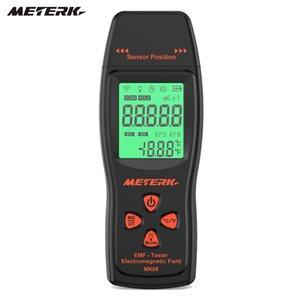 Rilevatori elettromagnetici radiazione Rivelatori Meterk EMF Meter palmare dosimetro di radiazione del campo elettromagnetico Dosimeter Tester