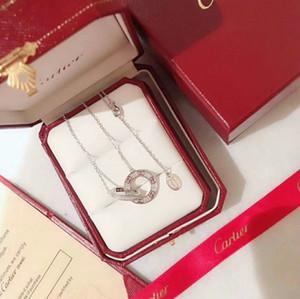 La nouvelle déesse de bijoux fantaisie sauvage pour femmes colliers de médaillon en argent sterling