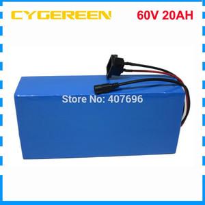 60V 20AH batterie au lithium ebike 60V 1500W vélo électrique batterie 60V 20AH batterie de scooter avec 30A BMS 2A chargeur