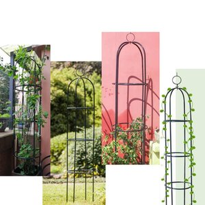 Iron Wedding Decoration Arches 188CM Garden Plant flower Vine Rack Climbing Planter Trellis Support Metal Frame Display stand