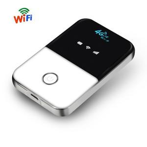 Tianjie 4g Lte Pocket Router WiFi Auto Mobile WiFi Hotspot Wireless Broadband Mifi sbloccato modem router 4g con slot per schede sim T190619