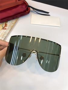 New fashion designer occhiali da sole classici senza cornice 0488 occhiali da pilota di grandi dimensioni con stile popolare di alta qualità bestseller tipo di raccordo di protezione
