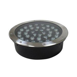 Cálido 36W 85-265V RGB LED subterráneo de luz blanca de la lámpara al aire libre lámpara del proyector impermeable Buried ligera para Lanscape