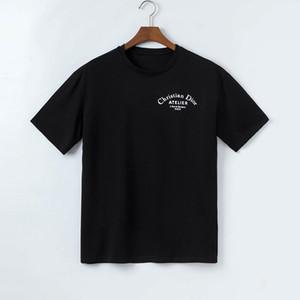 이탈리아 디자인의 폴로 셔츠 패션 브랜드 메두사의 T 셔츠는 3D 자수 늑대 아플리케 캐주얼 코튼 폴로 망