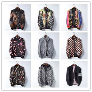 2020 SS ultima sfilata di Parigi limitata maschile in edizione giacca designer del marchio giacca a vento cerniera logo giacca cappotto giacca M-3XL 8902