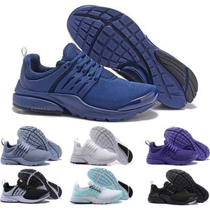 New presto BR QS running shoes for men women triple white black grey bule trainers Comfortable breathable sports sneakers size 5.5-11