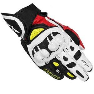 Звезда MOTO GP гоночные перчатки мотоцикл езда перчатки летние короткие Локомотив полный палец перчатки углеродного волокна кожа