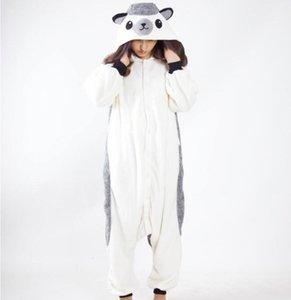 만화 고슴도치 결합 된 잠옷 남여 코스프레 할로윈 의상 귀여운 레저 점프 슈트 따뜻한 연인 홈 잠옷 CCA10283의 20PCS