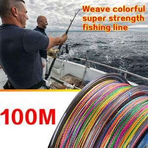 (317x) Super 4 Пряди Плетение Saltwater Плетеные лески рыболовные снасти Принадлежности Спортивные Strength Нейлон Орудия лова