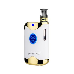 2019 Kangvape TH420 BOX newest product e-cig dry herb vaporizer Black widow 650mah for dry herb with high quality free shipping