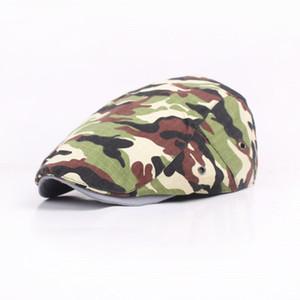 Camouflage Hat Brim Hommes Beret Taobao chaud de vente avant Cap extérieur Voyage Style d'université Beret Femmes