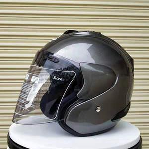 Frete grátis capacete ARAI R4 motociclismo quatro estações passam homens de corrida capacete e mulheres metade capacete