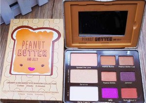 2017 hot New Peanut Butter Eyeshadow Chocolate Chip Palette y Jelly Sombra de Ojos en Stock DHL free shipping + Gift