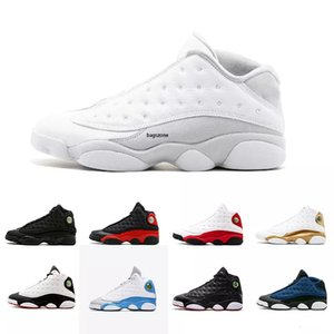 Top 13 13s Shoes Men Basquete Bred Flints History of Flight Altitude XIII Sport Shoes Designer retro Atletismo Sneakers US 7-13