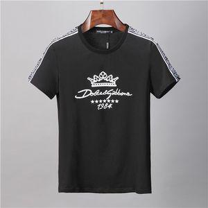Erkekler Tee Gömlek Harf Nakış Tişörtlü Mens Tees Kısa Sleeve tshirts2 için Yenilik Moda Casual Luxury Tasarımcı T Gömlek