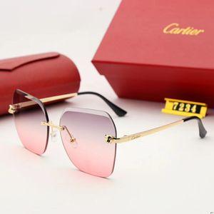 Солнцезащитные очки бренда дизайнер квадратный летний наряд целая рамка высокого качества предотвращает ультрафиолетовые лучи, чтобы смешать цвет, чтобы соответствовать коробке