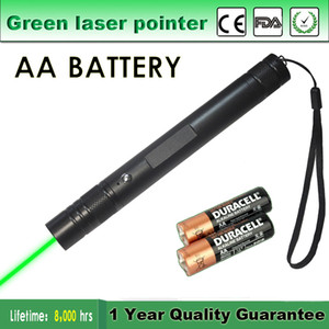 High Quality pointer AA Battery Portable Astronomy High Power 5mW Green Laser Pointer Tactical Pen Lazer Pointer Visible Beam Pet Toy & Gift