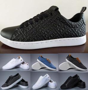 2020 neue lLACOSTEs Männer Sportschuhe Frankreich Krokodil Stickerei Mode Sneakers Weiß schwarz weinrot Wanderschuh Trainer Schuhe laufen
