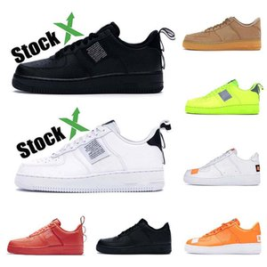 nike air force 1 AF1 dunk Run Utility Herren Damen Laufschuhe dreifach weiß balck HIGH LOW Cut Leder Flache Herren Trainer Skateboard Sportschuhe