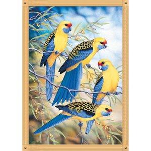 At Çapraz Dikiş Setleri Mosaice Hayvan Boyama bule kuş Tam Matkap DIY 5D Yuvarlak Rhinestone Nakış Elmas