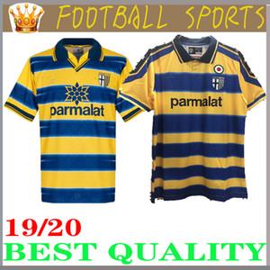 1998 1999 2000 Parma Retro soccer Jersey Local lejos 98 99 00 FUSER 8 BAGGIO 9 CRESPO 10 ORTEGA 11 AMOROSO F CANNAVARO Camiseta de fútbol