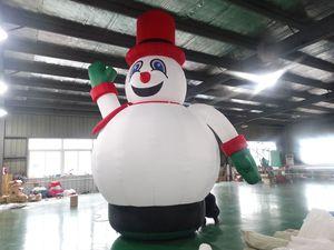 gonflable Père Noël modèle gonflable jouet cadeau décoration dessin animé oxford pour Noël avec ventilateur express sans expédition à porte