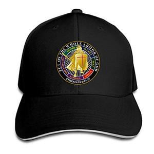 Şapka Unisexe Erkekler Kadınlar Beyzbol Spor Dış Mekan Cap Hip-hop Tüm Zırh Tanrı'nın Beyzbol şapkası Ayarlanabilir Çatılı Sandwich Sergiledin