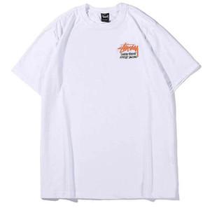 hommes Fashion- mode tshirt T-shirts de créateurs de nouveaux hommes de luxe femmes l'homme t-shirt tendance rue T-shirts de sport coton t-shirt confortable stussys art