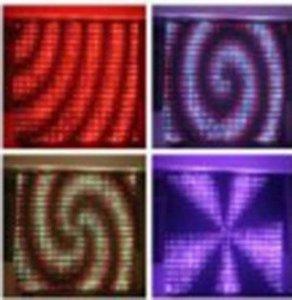 P18 3mx4m de vídeo LED de tela Dj Visión Cortina, DMX LED de visión cortina, pantalla flexible, lámpara de video Cortina, LED DJ Etapa Backdrops Llfa