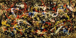 Jackson Pollock Abstrakte Konvergenz Home Decor Handbemalte HD-Druck-Ölgemälde auf Leinwand-Wand-Kunst Leinwandbilder 200130