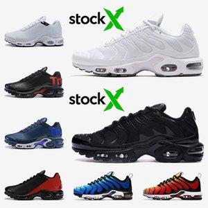 airmaxarmax tn mais if preto, branco, azul OG Hiper deluxe Óculos 3D respirável esportes da forma correndo formadores sapatos Maxes 40-46