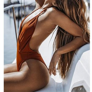 ITFABS Bkini 2018 Nova Sexy one piece swimsuit Backless maiô para as mulheres Swimwear maiô swim wear feminino Monokini