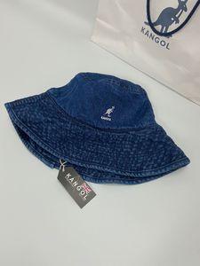 Japon Kangol kovboy balıkçı kova kova şapka Kanguru balıkçı şapka Kangol havza kap varil kapağı Chiya