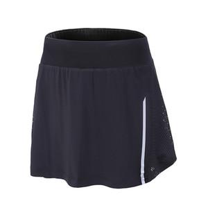 2 em 1 mulheres verão yoga shorts de malha respirável menina ladie calças curtas para a execução de roupas de fitness esporte atlético jogging