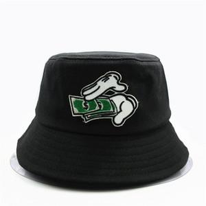 2020 nuovo ricamo di stile di mano della benna Cappello pescatore corsa esterna del sole della protezione cappelli per gli uomini e le donne 69