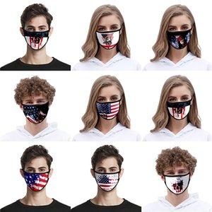 Moda algodón Antil 3 capas protectoras de polvo facial diseñador de la máscara de filtro Pm2 5 Niños Máscaras Pantalla facial sin válvulas # QA770
