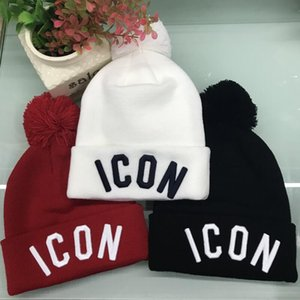 Top quality ICON winter cap CANADA brand BEANIE men knitted hat classical sports skull caps women casual outdoor GOOSE beanies