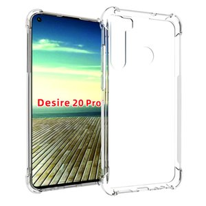 Прозрачный для HTC Desire 20 Pro u19e U11 19 Plus U12 Life Desire 12 20 Plus Case Soft Gel Skin Clear Кремний Защитная крышка телефона