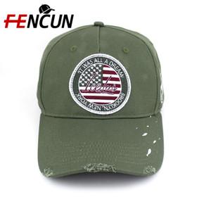 Cina Manifattura 5-Panel Logo durevole personalizzato ricamo patch logoro cappello di sport del cappello Distressed Berretto da baseball con il grande sconto