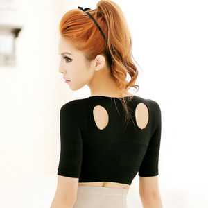 Femmes Gilets Posture Correcteur bosse Pure Color Taille Uniforme Femme Sous-vêtements Sous-vêtements Slim Fit amincissants 21 5HY E1