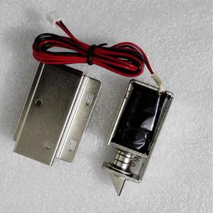 12V DC automatique de porte Serrure de tiroir Tongue Serrure électrique Solenoid Slim Assembly Design