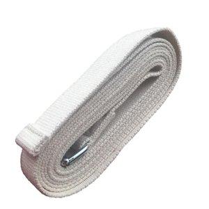 3 m Iyengar Yoga stretch belt lengthened natural cotton thickening Rope Figure Waist Leg Resistance Fitness Bands Yoga Belt