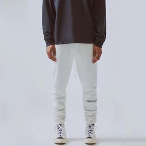 En iyi Hip Hop Sokak Pantolon 3M Yansıtıcı Harf Nakış eşofman altı Moda Sokak Erkekler Pantolon Spor Sweatpants HFYMKZ178