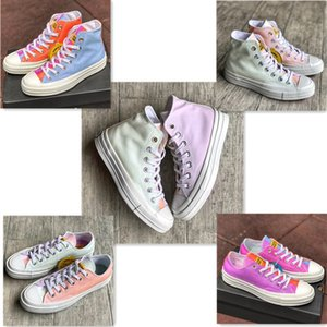 New Chinatown marché Chuck 70 chaussures de toile des femmes des hommes Low Top Changement de lumière concepteur décoloration UV Skateboard formateurs occasionnels Sneakers