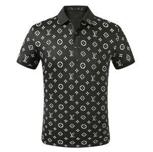 Todo las letras clásicas L del cuerpo camisetas para los hombres Tops s Letra T Camisa para hombre de la marca de ropa V camiseta