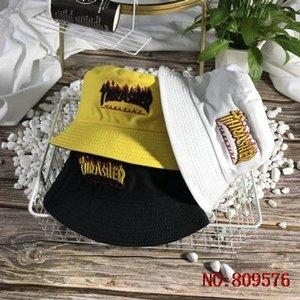 erkekler için klasik lüks tasarımcı kova şapka açık Avcılık Balıkçılık erkek spor tefek öğeler Balıkçı CJ258