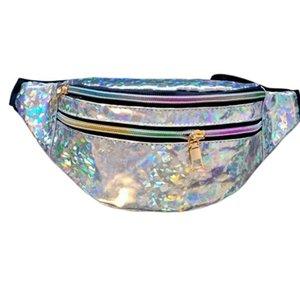 Блестки для печати талии сумка для Kid Baby Fashion Fanny Pack плечевой ремень для девочек Сумки детские Кенгуру Блеск телефон Чехол