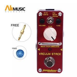 Ücretsiz Altın Connector ile AROMA AVS-3 VAKUM YIĞININIZ Vana Stack Simülatörü Bozulma Etkisi Gitar Pedal Gerçek Baypas