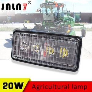 Luces forestales 1pcs 12V 24V haz de luz LED del trabajo de 20W tractor 4LEDs LED para vehículos Caso clase agrícola envío libre