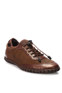 Pearl Genuine Leather Brown Men 'S Shoes 120130006490